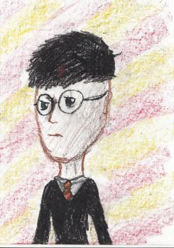 Harry Potter Portrait By Weasleybeourking-d5vh87u  by Cookie-Le-Creepe