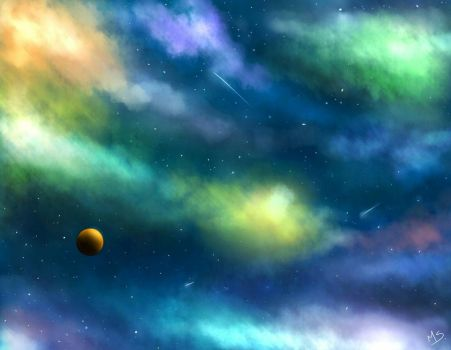 Galaxy by Mely14Arts