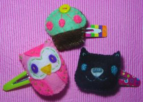 Hair clips trade w becharming by mjdaluz