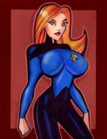 Dr. Beverly Crusher by Mythical-Mommy