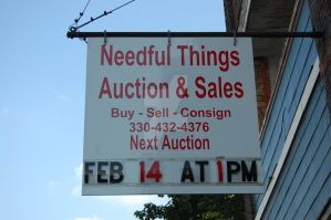Needful things Sign by moonferret05