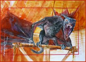 Drogon by DavidDeb