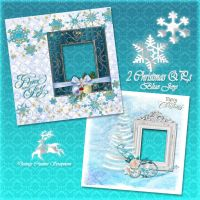 2Christmas QP,s Blue Joy preview by Creativescrapmom