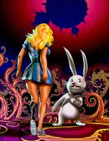 Alice in Wonderland 1 - Hare by biz20