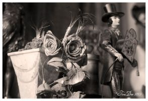black and white artifacts by absinthalicious