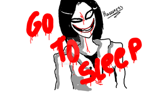 Sketch toy- Jeff the killer by haozeke93