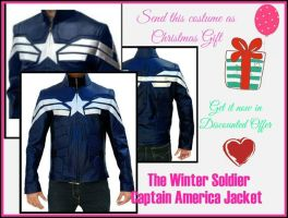 The Winter Soldier Captain America Jacket by jessicanelson1265