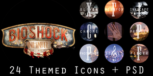 ShockDock Icon Set by jensen-nicole