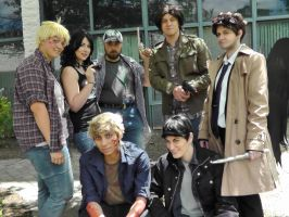 The boys are back in town - animeNEXT 2014 by FUBARProductions