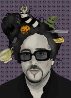 tim burton by strawberryfray