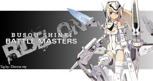Busou Shinki signature by EvannGeo
