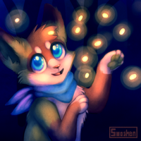 Dancing With Fireflies by Smushey