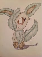 Leafeon by shiny9tails