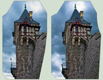 Castle of Wernigerode 3D ::: DRi Cross-View by zour