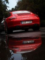 red in the mirror. by szczepanek
