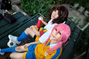 Cosplay: Taking some break by Junez-chan