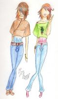 Jeans and Wide-Sleeves by Nyan-the-Reaper