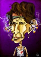 Keith_Richards by elisiozero