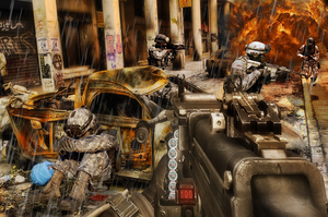 Fireshock Warfare by NeoMetalSonic360
