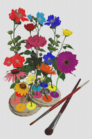 Flowerpalette1234 by essencestudios
