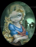 Portrait of Goldilocks by jasminetoad