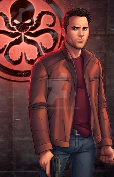 Grant Ward - Agents of SHIELD by JamieFayX