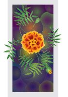 Tagetes by overcover