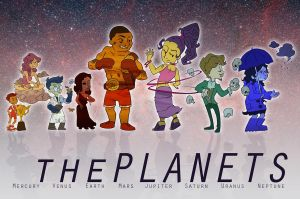 the planets characterized by Purp1eDragon