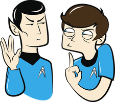 Spock You - the T-shirt by Konstance
