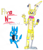 Five Nights at Freddy's 3: Nope by xTheShinyMewGirlx