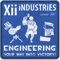 Xii iNDUSTRiES TF2 spray by CoreXii