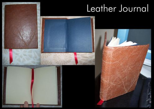 Leather Journal by supersmeg123