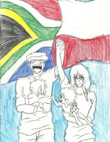 Friendship across the world by Greenland-Angelica-J
