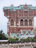 Tokyo Disney Tower of Terror by SailorEarth89