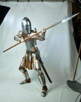 Armour and spear by magikstock