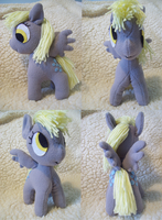 Mini Derpy Plush by EquestriaPaintings
