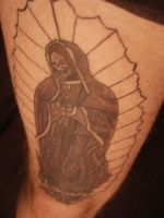 My Lady Guadalupe by darthbaio
