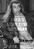 Jaya jeffery's 21st Birthday by NSGDesign