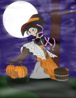 Safiya, Spirit of Halloween by FaLyn101