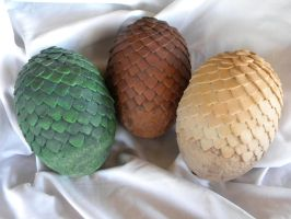 Game of Thrones Dragon Eggs by aBlindSquirrel