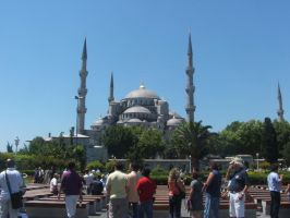 The Blue Mosque 2 by Magdyas