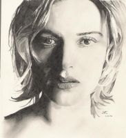 Kate Winslet by AndyRidae