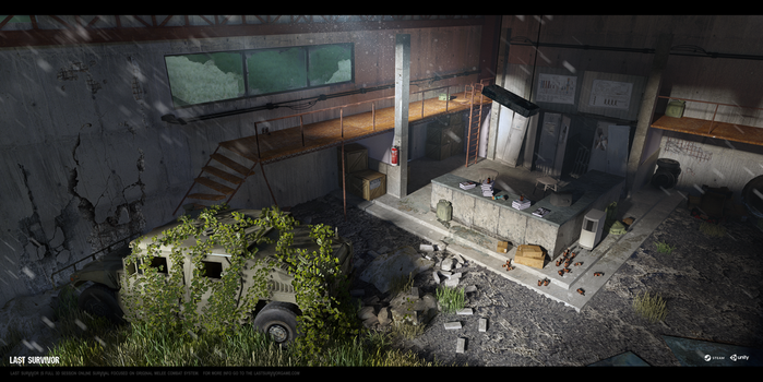 Last Survivor - Garage (interior 03) by UnccleUlty