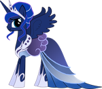 Princess Luna Gala Dress by Senwyn1