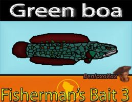 Green Boa from Big ol' bass fisherman's bait 3 by BenioxoXox