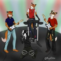 COMM Rock Band by sorjei