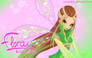Flora Dimentionix Wallpaper by werunchick