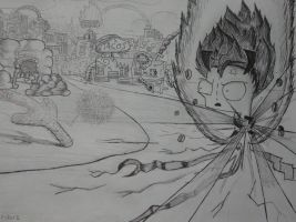 Gir SSJ vs Mugiwara no Perry :3 by luiszsx