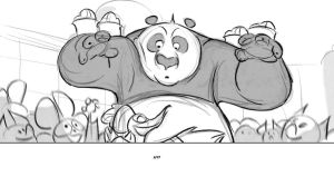 storyboard panel by radsechrist