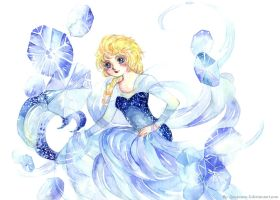 Elsa: Frozen coming by Lovepeace-S